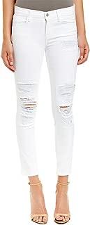 J brand Jeans Women's Destroyed Skinny Capri Jeans Chaos (White) Size 24