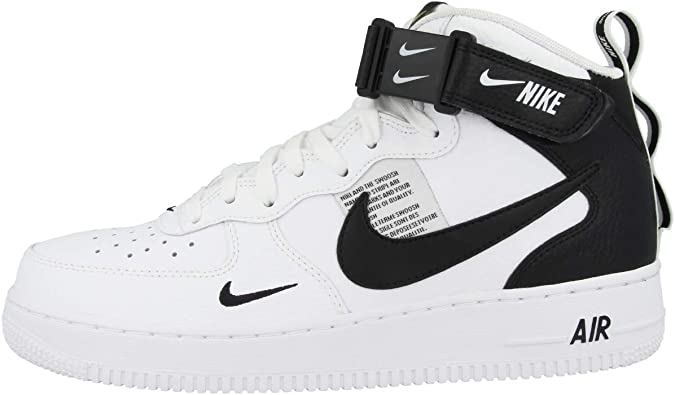 NIKE Chaussures Air Force 1 Mid ´07 Lv8 Blanc 47.5 : Amazon.fr ...