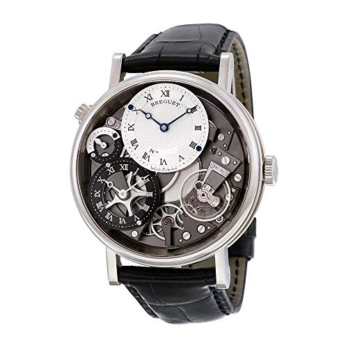Breguet Tradition GMT Manual Silver...