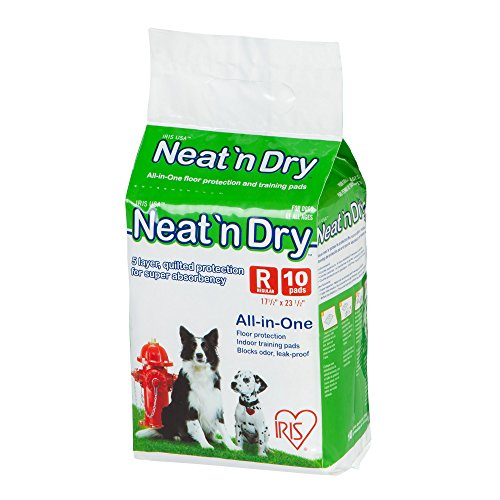 IRIS USA, Neat 'n Dry Premium Pet Training Pads, Regular, 17.5