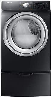 Samsung Fingerprint Resistant Black Stainless Steel Gas Dryer