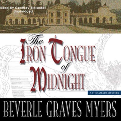 The Iron Tongue of Midnight audiobook cover art