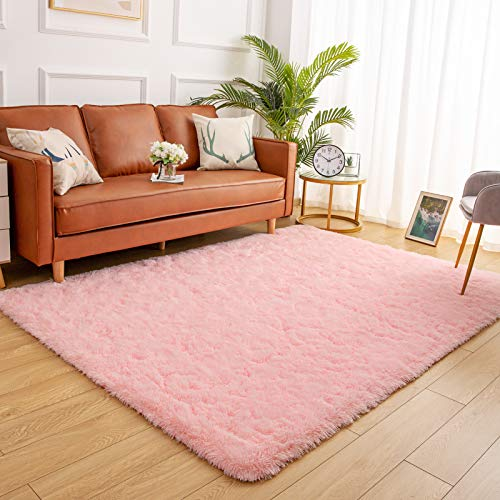 YJ.GWL Soft Shaggy Area Rugs for Bedroom Fluffy Living Room Rugs Nursery...