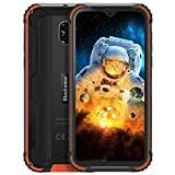 Unlocked Rugged Smartphones Blackview BV5900 - Rugged Cell Phones with Android 9.0 4G LTE IP68 Waterproof Drop Proof, 5.7' Screen 3GB+32GB Dual SIM 5580mAh Battery(Orange)