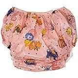 Rearz - Christy Adult Plastic Pants - Pink Nursery Print (Small)