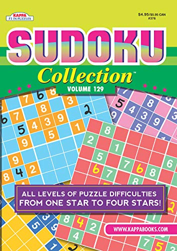 Compare Textbook Prices for Sudoku Collection Puzzle Book-Volume 129  ISBN 9781559935197 by Kappa Books Publishers