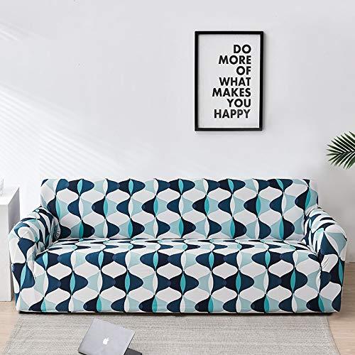 Funda de sofá elástico floral para sala de estar funda sofá muebles fundas fundas sofás con chaise longue A12 2 plazas