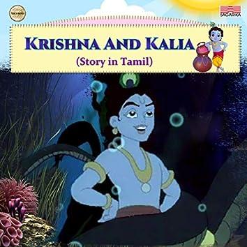 Krishna and Kalia