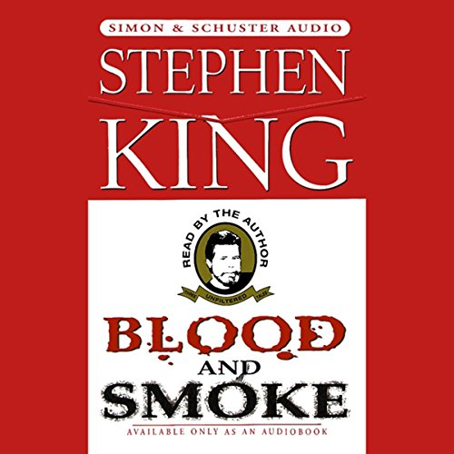 Blood and Smoke audiobook cover art