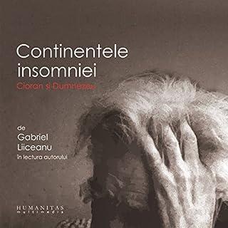 Continentele insomniei audiobook cover art