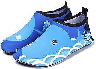 iBaste Schwimmschuhe Aquaschuhe Kinderschuhe Jungen M/ädchen Barfussschuhe Wasserschuhe Surfschuhe f/ür Kinder Badeschuhe Schnell trocknend