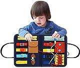 N/Y Toddler Busy Board - Tablero Sensorial Montessori para Niños Pequeños Que...