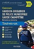 Concours Gardien-brigadier de police municipale - Garde champêtre - 2021-2022 - Tout-en-un - Concours 2022 (2021-2022)