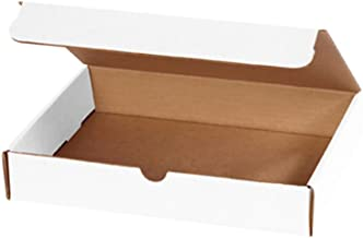 """Aviditi M1182 Corrugated Literature Mailer, 11-1/8"""" Length x 8-3/4"""" Width x 2"""" Height, Oyster White (Bundle of 50)"""