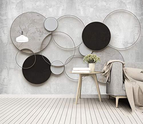 Decoratief wandbehang 3D behang wand fotobehang foto woonkamer slaapkamer decor kantoor canvas HD-canvas moderne minimalistische geometrische ideeën 150x100cm