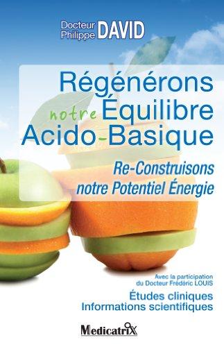 Couverture du livre Régénérons notre Équilibre Acido-Basique