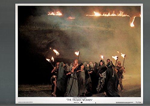 MOVIE POSTER: THE TROJAN WOMEN-1971-LOBBY CARD-DRAMA-fine FN