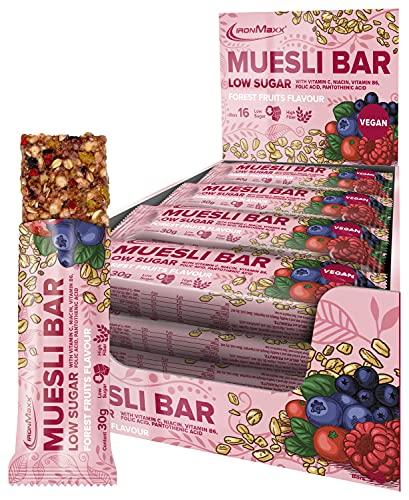 IronMaxx Muesli Bar Vegan, Forest Fruits...