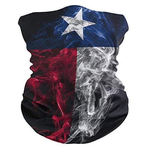 RsebidR Texas Flag Face Mask Gaiter Bandana Neck Scarf Headwear Balaclavas, Multi 18, 18.9' x 9.4'
