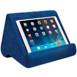 Ontel Pillow Pad Ultra Multi-Angle Soft Tablet Stand, Blue