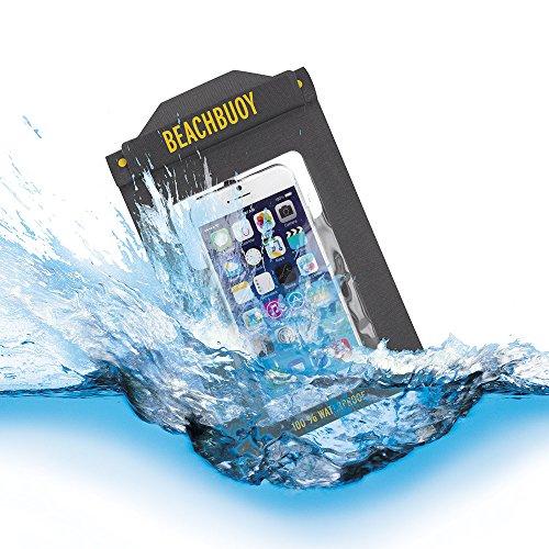 Proporta BeachBuoy wasserdichte Hülle für Apple iPhone und Samsung Galaxy- Zugriff zum Touchscreen und all den Bedienungselementen - Bis zu 5 Meter 100% wasserdicht - Geprüft vom Britischen Standards Institut IP58 - Lebenslange Umtauschgarantie - Maße:194