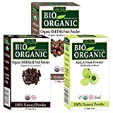 Indus Valley 100% Organic Hair And Skin Care Combo - 3 Pack Amla