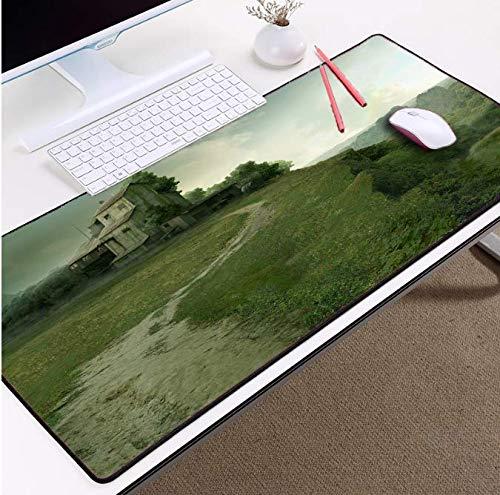 Muispads voor computermuis doet mat niet verbleken pad geen geur muispad gazon en huis voor pc laptop toetsenbord tafelset 900 x 400 x 3 mm