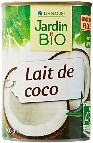 JBE BIO Lait de Coco - 400 ml lot de 6 ( 400 ML X 6 = 2400 ML)