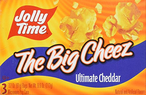 Jolly Time Microwave Pop Porn Cheese Flavour 300g