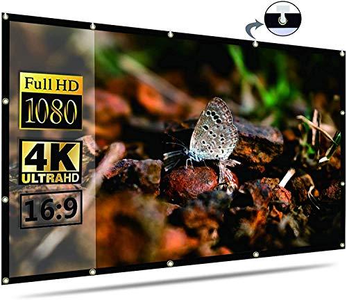pantalla para proyector portátil fabricante Flame