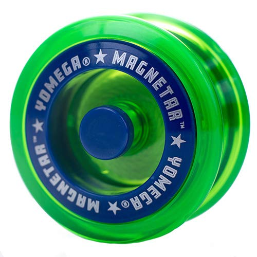 Yomega Magnetar Responsive High Performance Ball Bearing Yoyo for Kids, Designed for Beginners and Advanced String Trick and Looping Play. + Extra 2 Strings. + 3 Months Warranty (Green)
