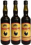 Marsala Cremovo FRAZZITTA (3 X 0,75 L) - Vino Aromatizzato all´Uovo - Aromatisierter Wein mit Ei 14,9% Vol. aus Italien