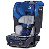 Diono Radian 3QX 4-in-1 Rear & Forward Facing Convertible Car Seat   Safe+ Engineering 3 Stage Infant Protection, 10 Years 1 Car Seat, Ultimate Protection   Slim Design - Fits 3 Across, Blue Sky