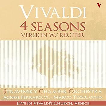 Vivaldi: 4 Seasons, Op. 8 (Version with Reciter) [Live]