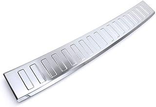 tuning art BL957 Ladekantenschutz mit Abkantung für VW T Cross C1 2018 , Farbe:Silber