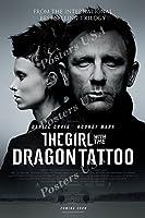 """ポスターUSA–The Girl with the Dragon Tattoo映画ポスター光沢仕上げ–mov719 24"""" x 36"""" (61cm x 91.5cm)"""