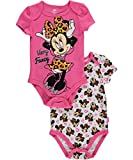 Minnie Mouse Baby-Strampler, Minnie, 2er-Pack Gr. 0-3 Monate, rose