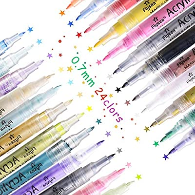 Acrylic Paint Marker Pens laise vie Acrylic Markers