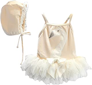 LOSORN ZPY Kid Toddler Girls Cute Swan Bathing Suit One Piece Swimsuit Swimwear