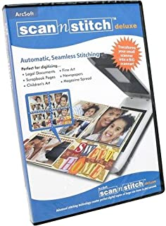arcsoft scan n stitch deluxe software