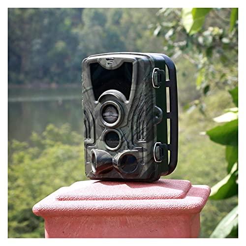 Cámara de seguimiento al aire libre Cámara de caza de cámaras cámaras 2 0MP 1080P Trampa de fotos de visión nocturna HC801A Seguimiento de la vigilancia de la vida silvestre inalámbrica Monitoreo de v
