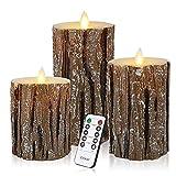 aolongwl Kerzenlicht 3pcs Led Candle Light Batteriebetriebene Lampe Led Kerzen Mit Flackernder Flamme Mit Fernbedienung Kerzenwachs
