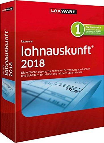Lexware lohnauskunft 2018 Jahresversion (365-Tage)