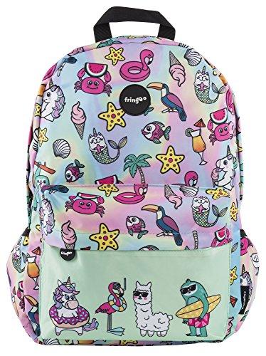 FRINGOO® Girls Boys School Backpack Waterproof Travel Bag Fits Laptop...