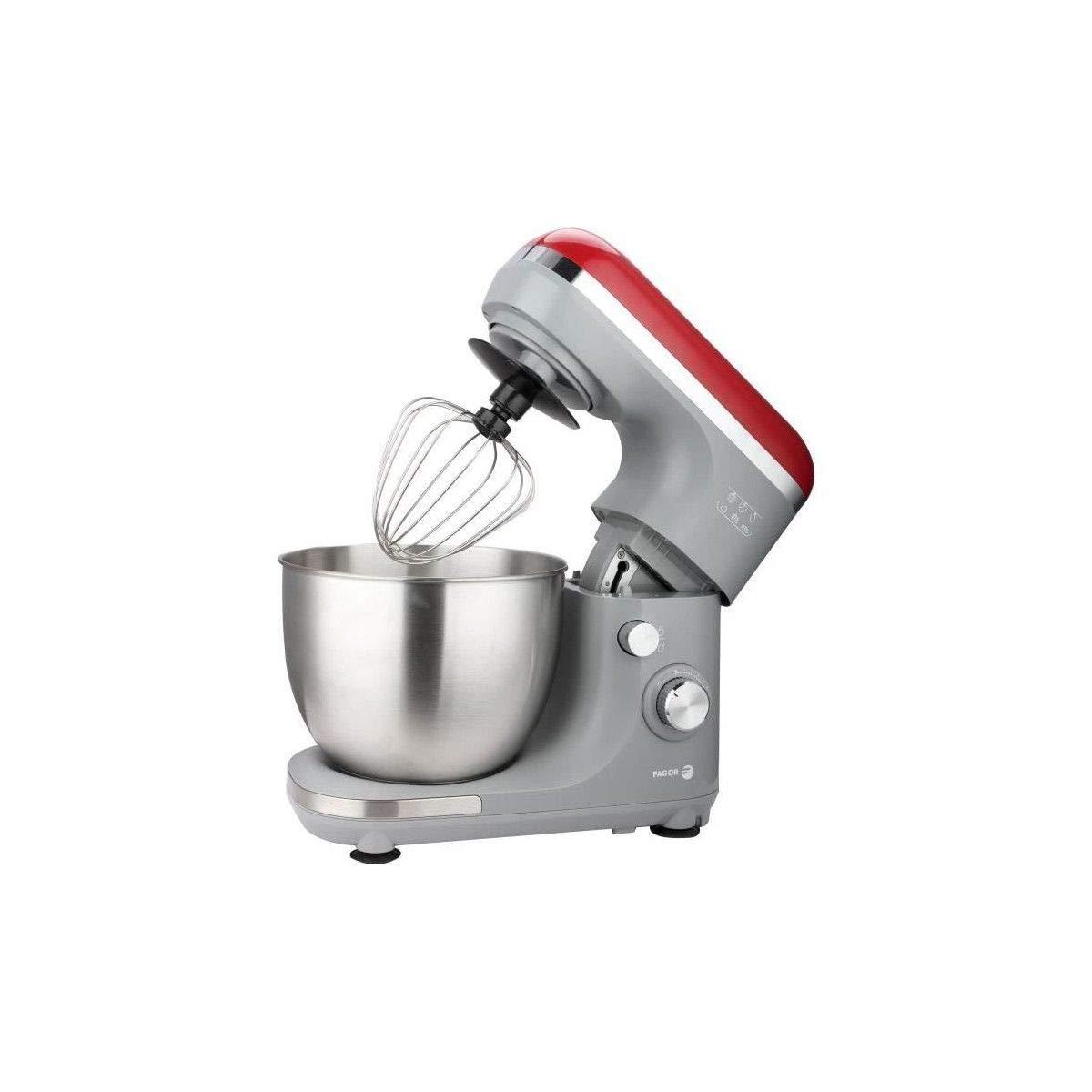 Robot de pasteler�a FAGOR FG603 - 5.5 litros - 600 W - 6 velocidades + pulso - gris: Amazon.es: Hogar