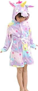 XIANGMAI Tianma - Albornoz Infantil de Franela para Verano con Capucha, diseño de Pijamas