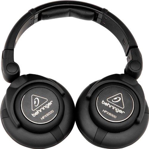 Behringer HPX6000 - Auriculares para DJ, color negro