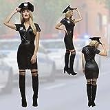Costume de policère sexy Déguisement agent de police femme M 42/44 Uniforme de police pour femmes tenue de carnaval forces spéciales dame habits des dames officier vêtement contractuelle madame