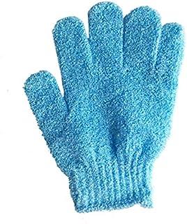 4 pcs Bath Exfoliating Gloves Nylon Shower Gloves, Bath Scrubber, Body Spa Massage Dead Skin Cell Remover Valentine's Gift...