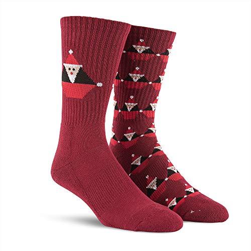 Volcom Men's Santa Stone Socks Deep Red
